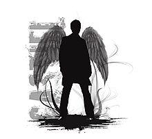 Castiel the Angel Photographic Print