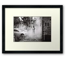 Street Menace Framed Print