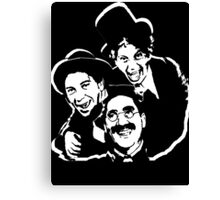 marx brothers t-shirt Canvas Print