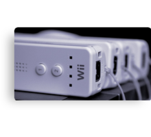 A Wii Bit of Control Canvas Print