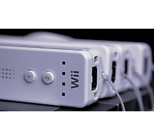 A Wii Bit of Control Photographic Print
