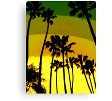A Very Southern California Forest Canvas Print