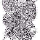 create tangle by Vickie Simons