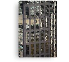 Tower Reflections, Vancouver, Canada Canvas Print
