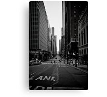 The Urban Canyon Canvas Print