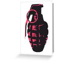 Grenade Greeting Card