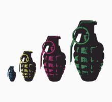 Grenade Babushka   by 305movingart