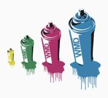 Spray paint graffiti babushka 2 by 305movingart