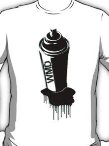 Spray paint graffiti teal T-Shirt