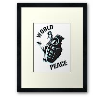 World Peace Framed Print