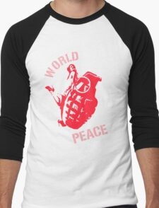 World Peace Men's Baseball ¾ T-Shirt