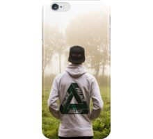 Palace Triangle / Hoodie In Forrest iPhone Case/Skin