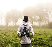 Palace Triangle / Hoodie In Forrest by deauwp