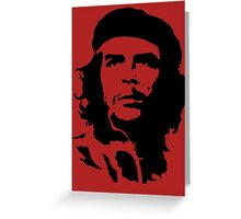 che guevara t-shirt Greeting Card