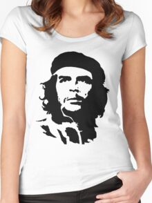 che guevara t-shirt Women's Fitted Scoop T-Shirt