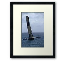 Team Australia Trimaran Framed Print