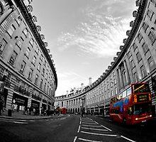 Regent street by Sam Tabone