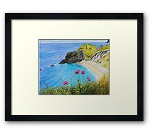 Man O War - a different perspective. Framed Print