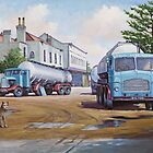 Davis&#x27;s tankers. by Mike Jeffries