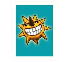 Soul Eater Sun  Art Print