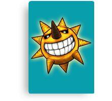 Soul Eater Sun  Canvas Print