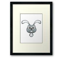 Rabbiteer Framed Print
