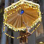 Christ before the altar, Sagrada Famila, Barcelona by Sue Ballyn