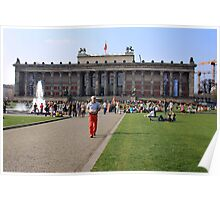 Altes Museum in Berlin Poster