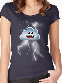 THUNDER CLOUD Women's Fitted Scoop T-Shirt