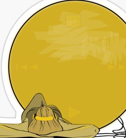 Music is The Sun Sticker