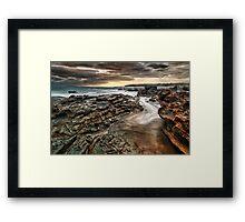 Tidal Ravage Framed Print
