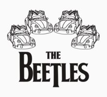 the beetles t-shirt Kids Tee