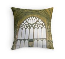 Lady Chapel Ely Cathedral Throw Pillow