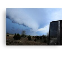 Storms from the Road Canvas Print