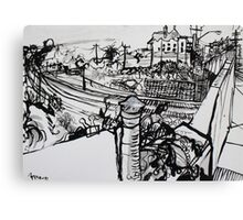 Raleigh Street, Footscray, 2012 Canvas Print