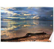 Pretty Sky, Messy Shoreline Poster