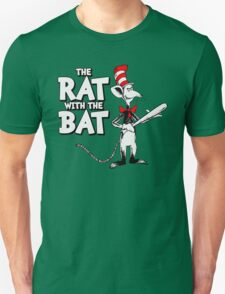 The Rat With The Bat T-Shirt