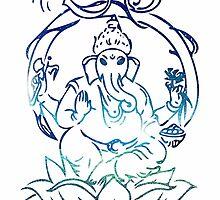 Ganesha. by RachelTilley