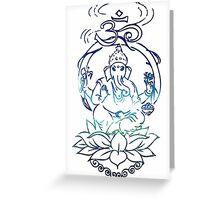 Ganesha. Greeting Card
