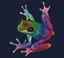 Celestial-Eyed Rainbow Frog by NetherworldHero