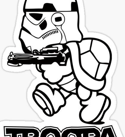 Troopa Sticker