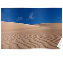 Formby Bay Sand Dune  Poster