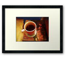 Coffeetable Book Framed Print