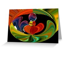 abstract 240 Greeting Card