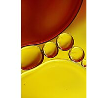 Abstract Oil Drops II Photographic Print