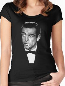 james bond Women's Fitted Scoop T-Shirt
