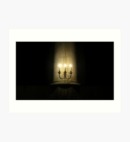 Candles in the Church Art Print