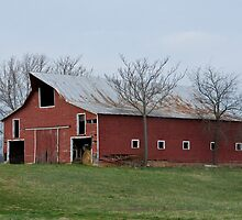 Country Barn by Beth Achenbach