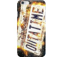 Back To The Future Licence Plate iPhone Case/Skin