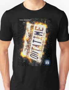 Back To The Future Licence Plate T-Shirt